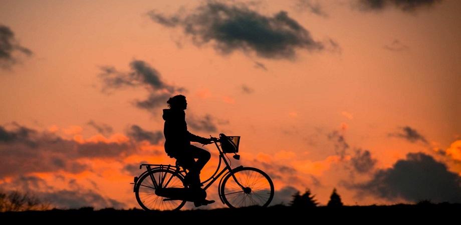 mersul pe bicicleta