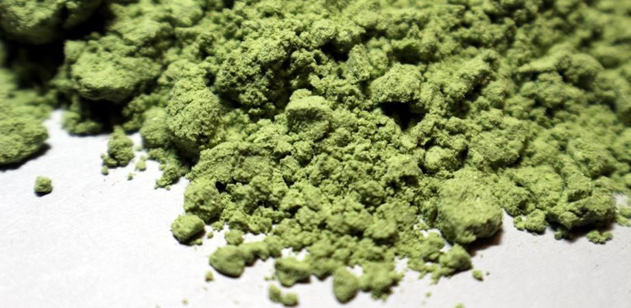 pudra de orz verde