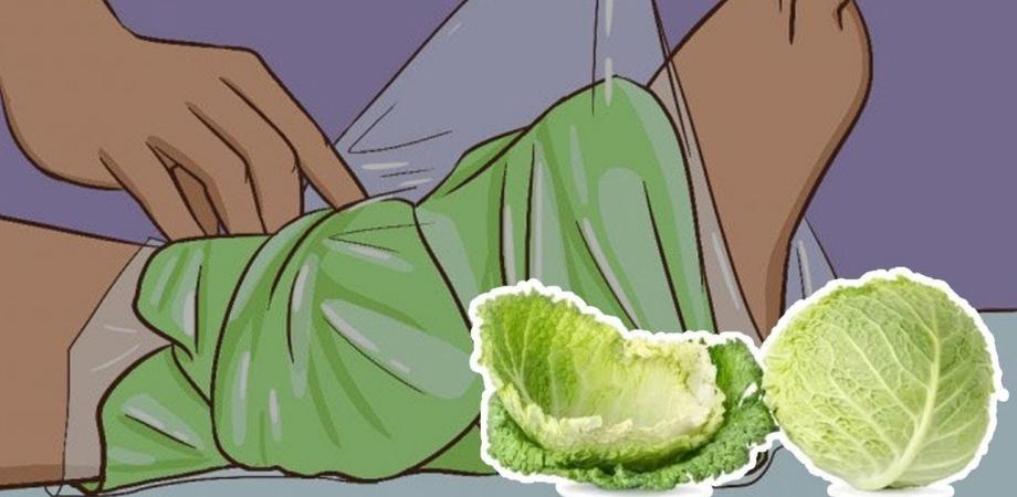 tratament cu frunze de varza