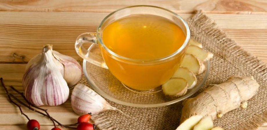 ceai de usturoi