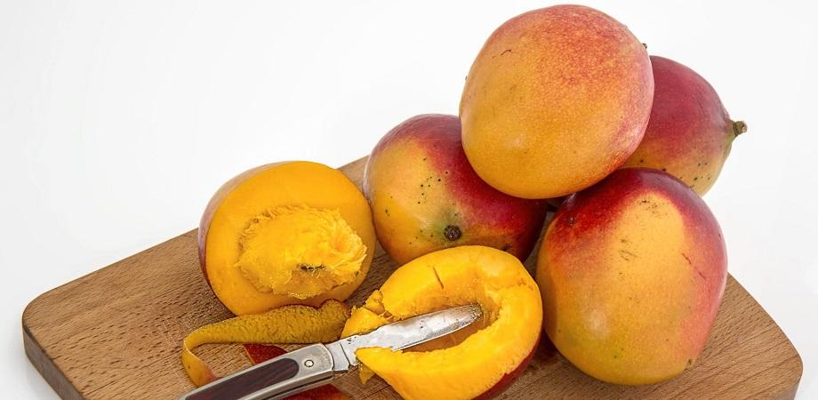 Ce contine fructul mango?