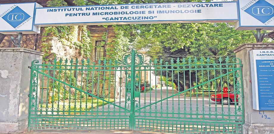 Institutul National de cercetare-dezvoltare Cantacuzino Bucuresti