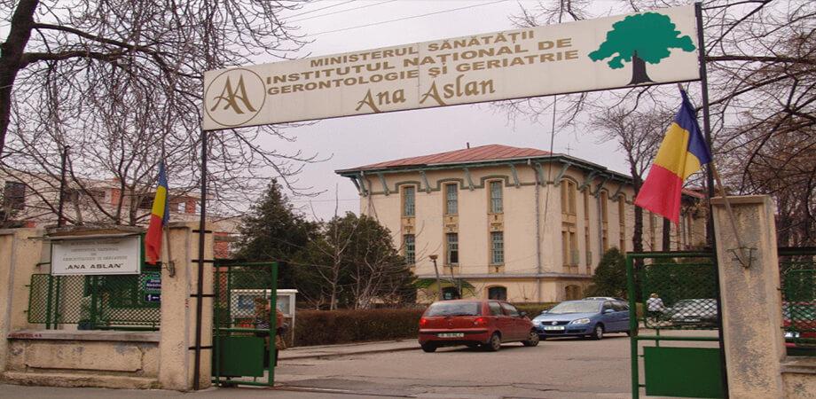 Institutul de gerontologie si geriatrie Ana Aslan Bucuresti