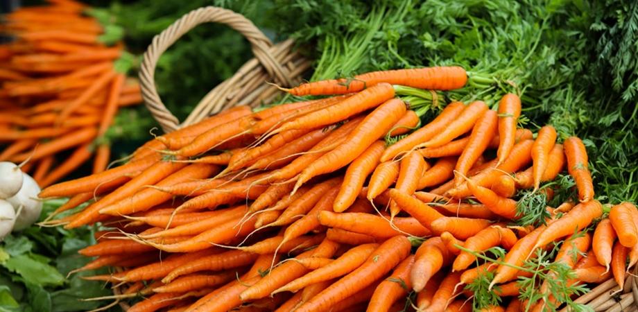 consumul de morcovi