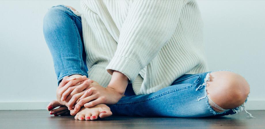ciocuri la genunchi