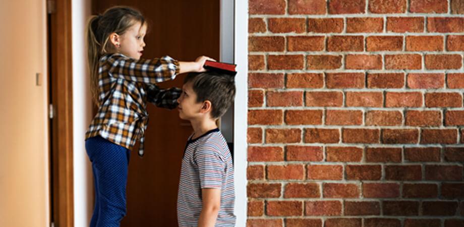 Cresterea in inaltime a copiilor