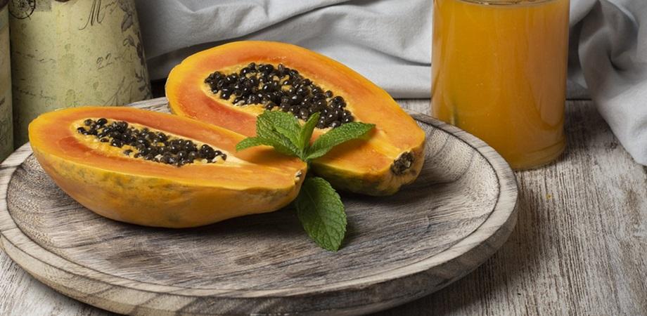 ce contine papaya